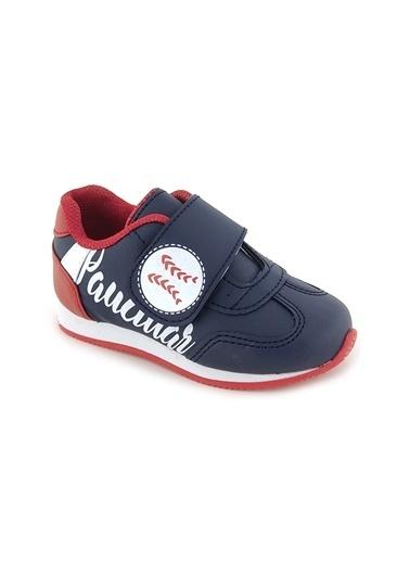 Necix's Funny Bebek Cırtcıtlı Spor Ayakkabı-Mavi-Turuncu Funny Bebek Cırtcıtlı Spor Ayakkabı-Mavi-Turuncu Renkli